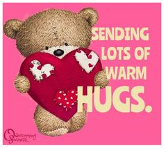 Love & hug Quotes : QUOTATION – Image : Quotes Of the day – Description From my heart to yours! Sharing is Caring – Don't forget to share this quote ! Hugs And Kisses Quotes, Hug Quotes, Kissing Quotes, Hugs And Cuddles, Hug Pictures, Teddy Pictures, Good Morning Hug, Cute Good Morning Quotes, Hug Images