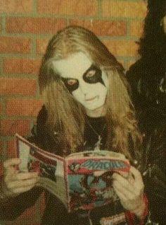Imagen de dead, Black Metal, and Mayhem