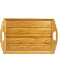 bamboo butler tray
