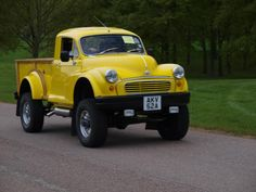 Direct Express Auto Transport This is how we Became the best. #LGMSports haul it with http://LGMSports.com Morris Minor Custom Pick-Up Trucks - 1963
