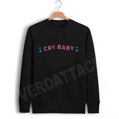 cry baby cute new Unisex Sweatshirts