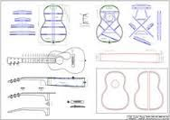 Image result for om guitar dimensions