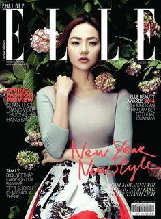 Elle Vietnam February 2015 | Minh Hang | Zhang Jingna