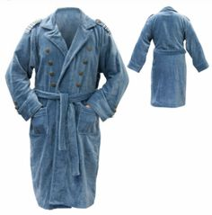 Protect the World In Comfort and Style with This Captain Jack Harkness Bathrobe