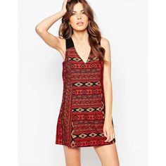 BCBG Generation Swing Dress In Aztec Jacquard (98 CHF) ❤ liked on Polyvore featuring dresses, multi, bcbgeneration, swing dress, white aztec dress, bcbgeneration dress and white swing dress