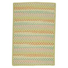 Color Craze Braided Area Rug(5'x7')