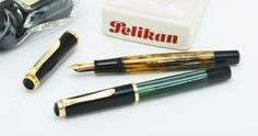 Two vintage Pelikan 400s from the 1950s