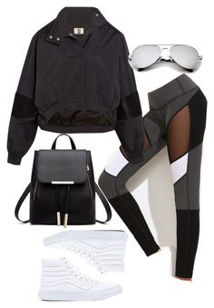 """Untitled #4639"" by lilaclynn ❤ liked on Polyvore featuring Topshop Unique, Vans, vans and topshop"