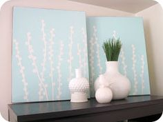 homemade by jill: making wall art using vinyl - two ways