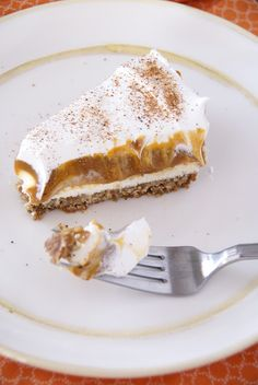 Mrs. Olson's Kitchen | Layered Pumpkin Pie