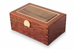 Dovetail 3 Layer Jewellery Box With Sassafras Lid