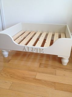 Hand Made Bespoke Luxury Wooden Dog Beds. by CountryHomeandGarden