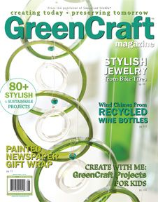GreenCraft - Recycling and Repurposing Waste into Ecologically Chic Creations, Help Eliminate Waste With These Crafting Ideas/Projects, Find New Purposes For Unused/Old Materials