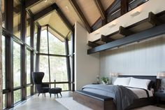Puesta Del Sol mountain contemporary, CO. RKD Architects. Kimberly Gavin Photography.
