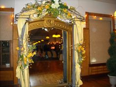 Event Masters Decor. Love this entrance.