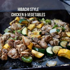 Grilled Chicken Recipes, Veggie Recipes, Asian Recipes, Beef Recipes, Dinner Recipes, Cooking Recipes, Healthy Recipes, Hibachi Recipes, Grilling Recipes