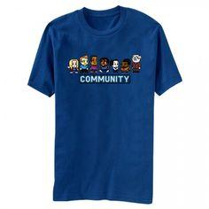 Community 8 Bit T-Shirt