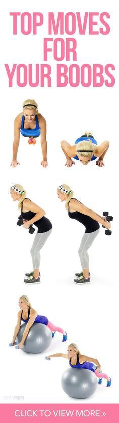 Give your boobs a boost with these moves!