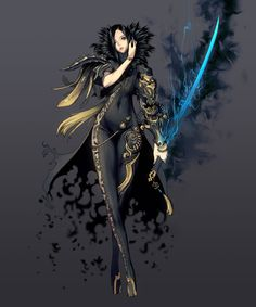 Jin Seo-Yeon, Blade & Soul Art & Pictures