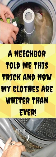 A Neighbor Told Me This Trick And Now My Clothes Are Whiter Than Ever! – Healthy Magazine