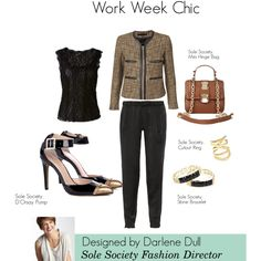 """""""Work Week Chic"""" by solesociety on Polyvore"""