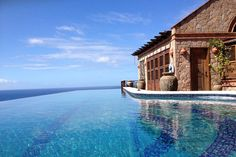 Caribbeans -  St. Lucia compound, overlooking a World Heritage site