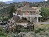 abandon house we used to play in Virginia City