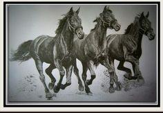 Galloping.../100/70cm./For sell/...Beautiful big Artwork