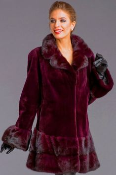 Fur Coat Fashion, Leather Gloves, Furs, Velvet, Jackets, Down Jackets, Fur, Feather, Jacket