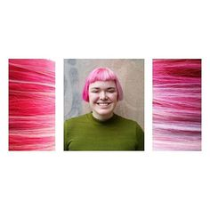 www.foxdensalon.com - Perfectly Pink  By the rad: @jestrauthair ... ... ... ... ... #pinkhair #pinkhairdontcare #colorinspiration #hairinspiration #inspiration #hairart #hairartist #modernsalon #salonlife #behindthechair #closeups #collage #pinkonpink #allsmiles #uptown #twincities #local #minneapolis #foxdensalon