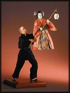 Bunraku Puppeteer - Jodi & Richard Creager.