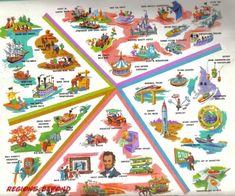 1960s Disneyland Guide
