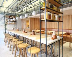 In Marylebone it happens right now so it seems. In every street you will find great addresses: from the Monocle Cafe to Carousel. Opso is also a new addition to the neighbourhood. From the outside it already looks like a place you wanna enter immediately,...