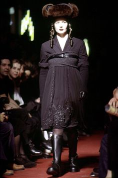 The 50 Most Scandalous Dresses in History - The Cut    Jean Paul Gaultier fall winter 1993, chic Rabbis collection