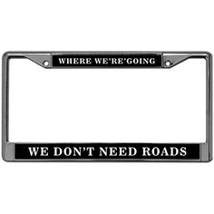 End Of The Trail Yellow Novelty Metal License Plate