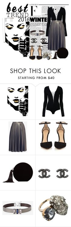 """Best trends 2016"" by nicolepuppy ❤ liked on Polyvore featuring Nicki Minaj, T By Alexander Wang, Ted Baker, Gianvito Rossi, MANGO, Chanel, White House Black Market and Marni"