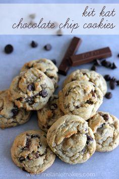Kit Kat Chocolate Chip Cookies