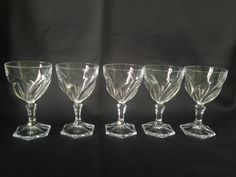 Crystal Krosno Champagne Glasses