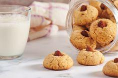 10 savjeta uz koje će se prhki keksi topiti u ustima Pavlova, Sweet Desserts, Glass Of Milk, Gluten, Snacks, Cookies, Breakfast, Cake, Recipes