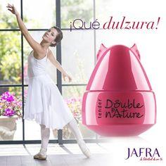 ¡Dulce y sensual! Inocentemente seductora con las delicadas notas de cerezos en flor de Double Nature Tender.   http://jafra.me/3vhd