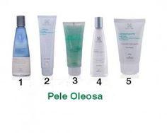 Kit dos 5 passos para limpeza facial Routine Hinode - Pele Oleosa