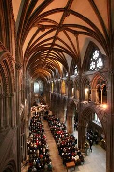 Lichfield Cathedral, Staffordshire England
