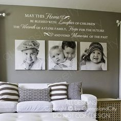 May this house be blessed laughter warmth hope memories .- Kann dieses Haus gesegnet Lachen Wärme Hoffnung Erinnerungen Wand Zitat Home Art Aufkleber Vinyl Aufkleber May this house be blessed laughter warmth hope memories - Family Wall Decor, Living Room Decor, Family Wall Quotes, Living Area, Dining Room, Memory Wand, House Blessing, Home Quotes And Sayings, Wall Sayings