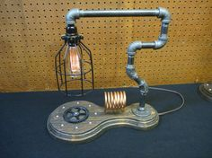 Industrial Lighting Decor Table Lamp  Industrial Light