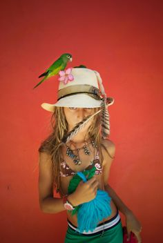 Where to Shop in Sayulita, Mexico: Pacha Mama. Courtesy of + Leisure Girl With Hat, Travel And Leisure, Gypsy, Captain Hat, Hats, Shopping, Fashion, Girls, Moda