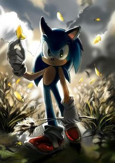 SONIC THE HEDGEHOG! :)