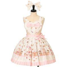 Angelic Pretty, Lolita Dress, Lolita Fashion, Asian Fashion, Kawaii, Skirts, Apron, Shopping, Country
