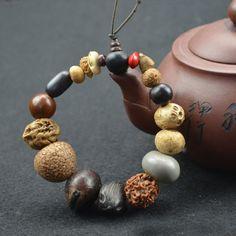 PRODUCT FREE -Natural 18 Bodhi Seed Tibet Buddhist  Mala Bracelet Buddha Charm Bangle Jewelry. [ Pay Just Costs Shipping ]