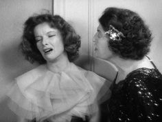 Katherine Hepburn & Constance Collier in Stage Door (1937)