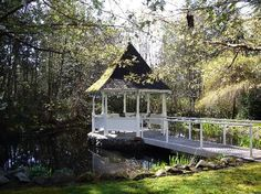Someday I want to build a Gazebo in the back of the yard. A stone walkway will lead to the bridge, to the Gazebo, surrounded by a large Koi pond.